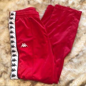 Kappa Red sweatpants